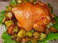 Запеченная курица в горчице